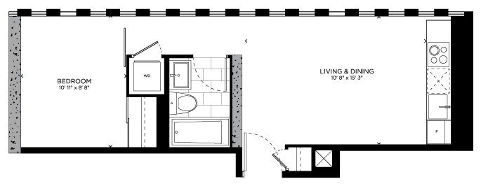 Floorplan for Yale