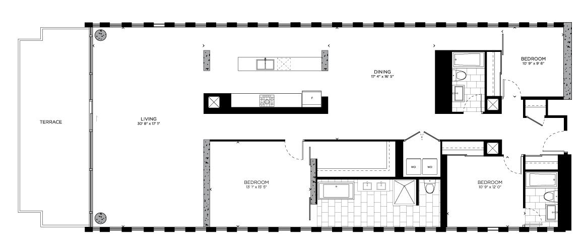 Floorplan for The Ivy