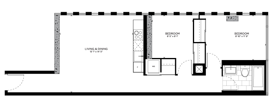 Floorplan for Kee