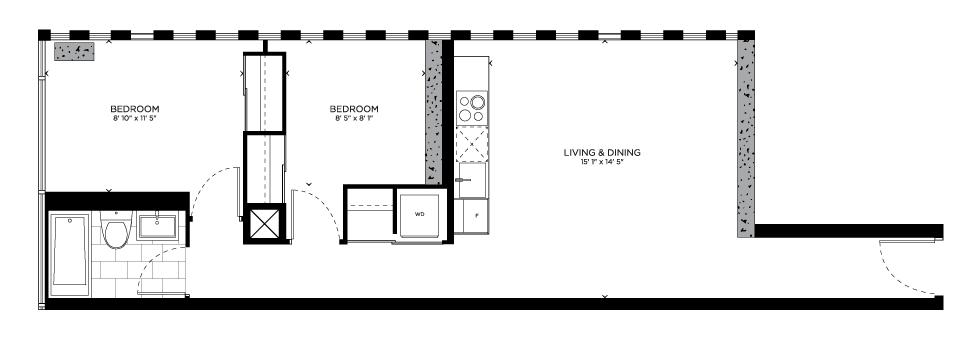 Floorplan for Spoke