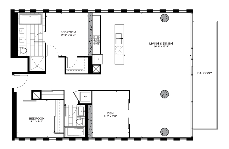 Floorplan for Hurlingham