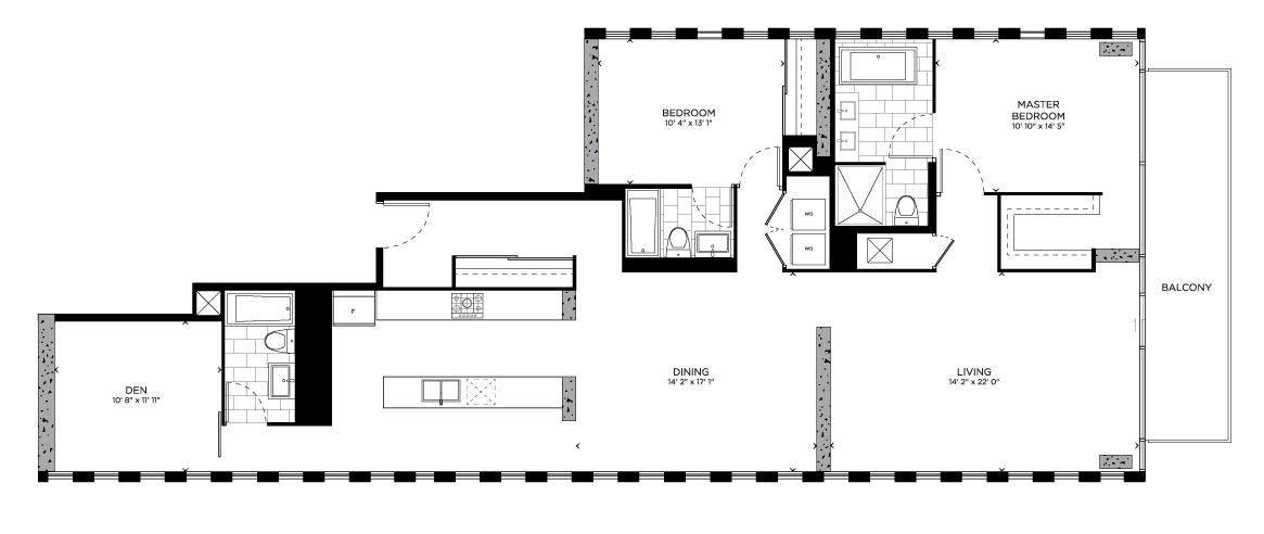 Floorplan for Shoreditch